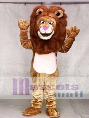 Heftig Braun Wally Löwe Maskottchen Kostüm Tier