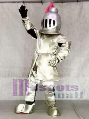 Erwachsener Ritter In Pink Armor Maskottchen Kostüme Menschen