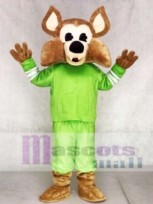 Brauch Farbe Grün Arizona Kojoten Heuler Coyote Wolf Maskottchen Kostüme