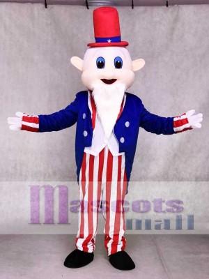 Onkel Sam Maskottchen Kostüme Menschen Amerika