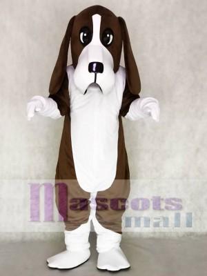 Niedlich Braun Basset Hund Maskottchen Kostüme Tier