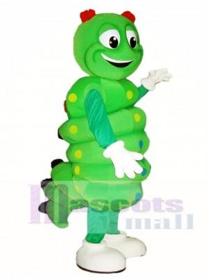 Grüne Raupe Maskottchen Kostüme Insekt