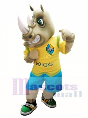 Rhinoceros Maskottchen Kostüm Rhino Maskottchen Kostüme