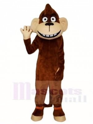 Braun Affe Maskottchen Kostüme Tier