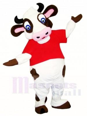 Blaue Augen Kuh Maskottchen Kostüme Bauernhof Tier