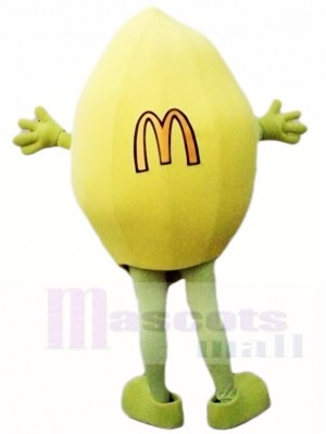 Mc Donald Lemon Maskottchen Kostüme Obst