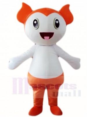 Orange Baby Maskottchen Kostüme Menschen