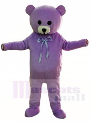 Lila Teddybär Maskottchen Kostüme Tier