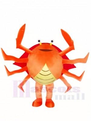 Krabben Maskottchen Kostüme Meeresfrüchte