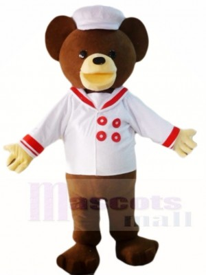 Teddybär mit Hemd und Hut Maskottchen Kostümen Tier