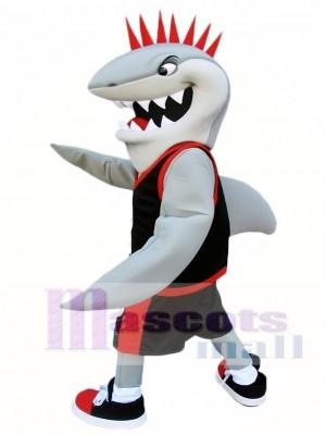 Nettes Haifisch Maskottchen Kostüm