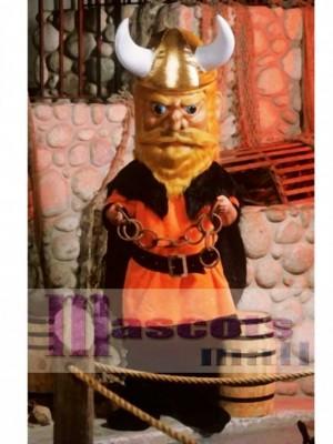 Wikinger Maskottchen Kostüm