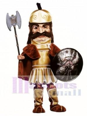 Trojanisches Krieger Maskottchen Kostüm (Schild und Axt nicht enthalten) Menschen