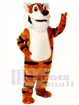 Nettes Toby Tiger Maskottchen Kostüm Tier