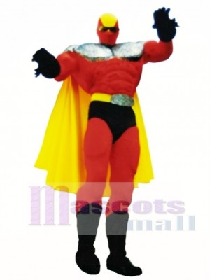 Superhelden Maskottchen Kostüm Menschen
