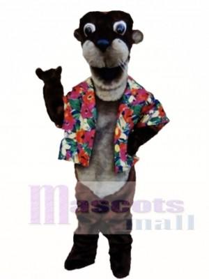 Otto Otter Maskottchen Kostüm