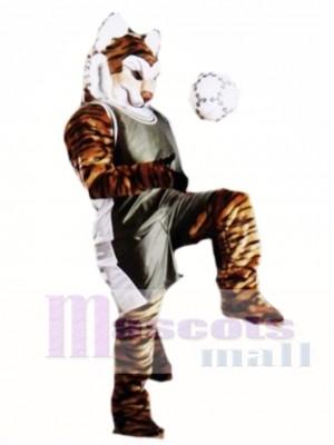 Niedliches Pro Tiger Maskottchen Kostüm