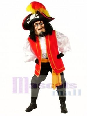 Kapitän Scratch Maskottchen Kostüm Menschen
