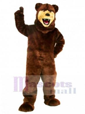 Neues Grizzlybär Maskottchen Kostüm