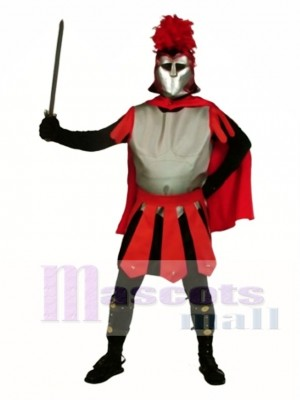 Spartanisches Maskottchen Kostüm Menschen