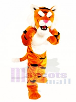 Süßes Power Tiger Maskottchen Kostüm