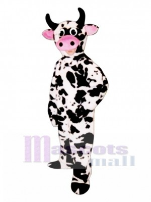 Nettes Kuh Maskottchen Kostüm