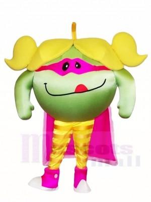 Lecker Grün Apfel Maskottchen Kostüme Obst