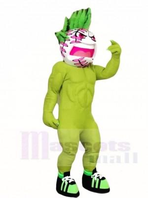 Grüne Tennis Ball Maskottchen Kostüme