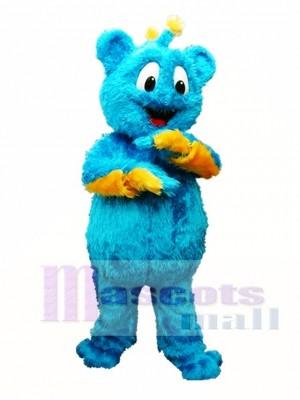 Blau Bär Maskottchen Kostüme