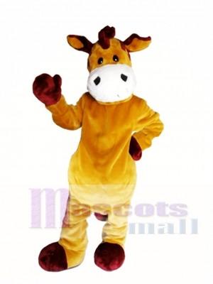 Braun Zebra Maskottchen Kostüm Brown Horse Maskottchen Kostüme