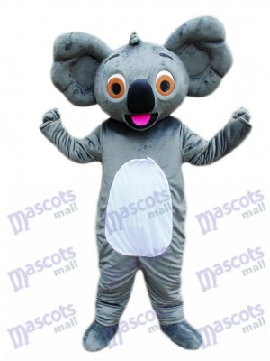 Koala mit rotem Zungen maskottchen Kostüm Tier