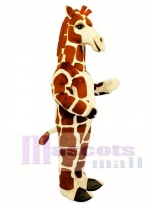Giraffe Maskottchen Kostüm