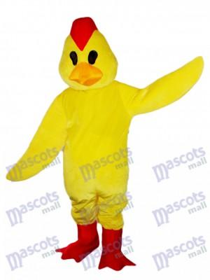 Gelbes Küken Hahn Hahn Maskottchen Kostüm Tier