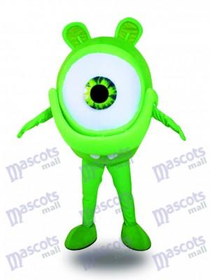 Grüne Augen Gläser Anblick Schutz Werbung Maskottchen Kostüm