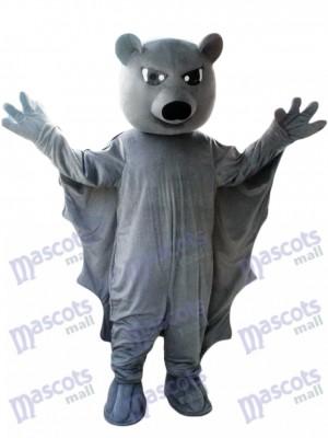Schwarz Bat Maskottchen Kostüm Tier