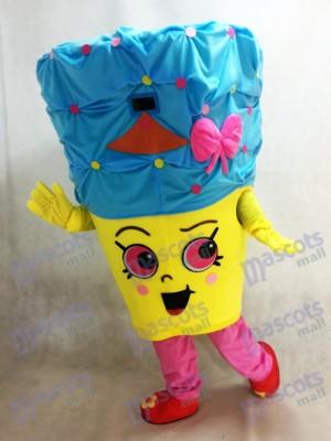 Shopkins Cupcake Queen Mädchen Maskottchen Kostüm