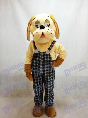 Glückliches Hundetiermaskottchen-Kostüm
