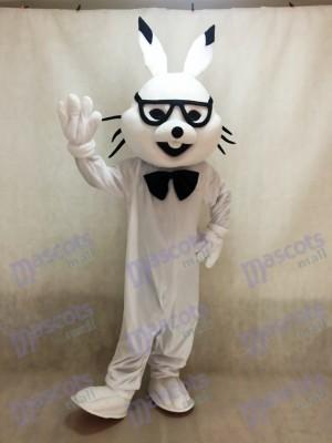 Weiße Osterhase Bugs Kaninchen Maskottchen Kostüme
