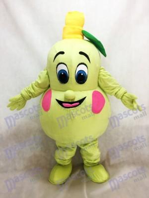 Frisches Birnen Maskottchen Kostüm Frucht