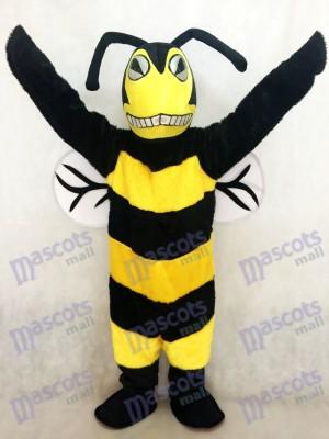 Neues schwarzes und gelbes erwachsenes Bienen/ Hornissen Maskottchen Kostüm