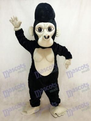 Schwarz Silverback Gorilla Maskottchen Kostüm Tier