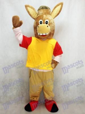 Brown Martin das Esel Maskottchen Kostüm Tier