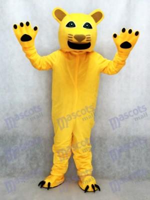 Neues gelbes Puma Maskottchen Kostüm Tier