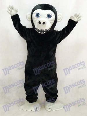 Neues schwarzes Gorilla Maskottchen Kostüm Tier