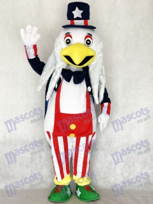 American Eagle Maskottchen Kostüm für Erwachsene Cartoon