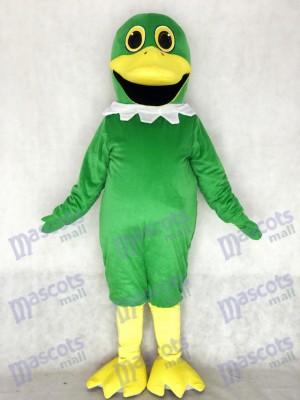 Nettes vollständiges grünes Stockenten Enten Maskottchen Kostüm Tier