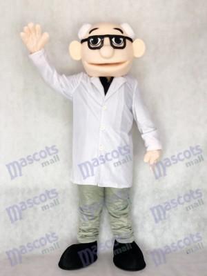 Neues Professor Doktormaskottchen Kostüm