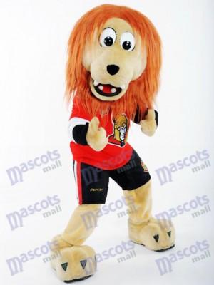 Spartacat Löwe der Ottawa Senators Maskottchen Kostüm Tier