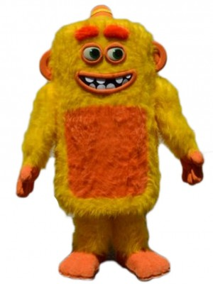 Gelbe Max Monster Maskottchen Kostüme