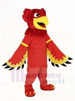 rot Adler Greif Maskottchen Kostüm